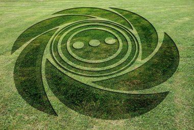 Crop Circle Message
